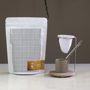 Thumb coffeeandjoy kit de cafe com coador de pano