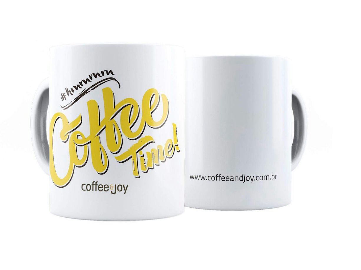 Caneca coffee time nova