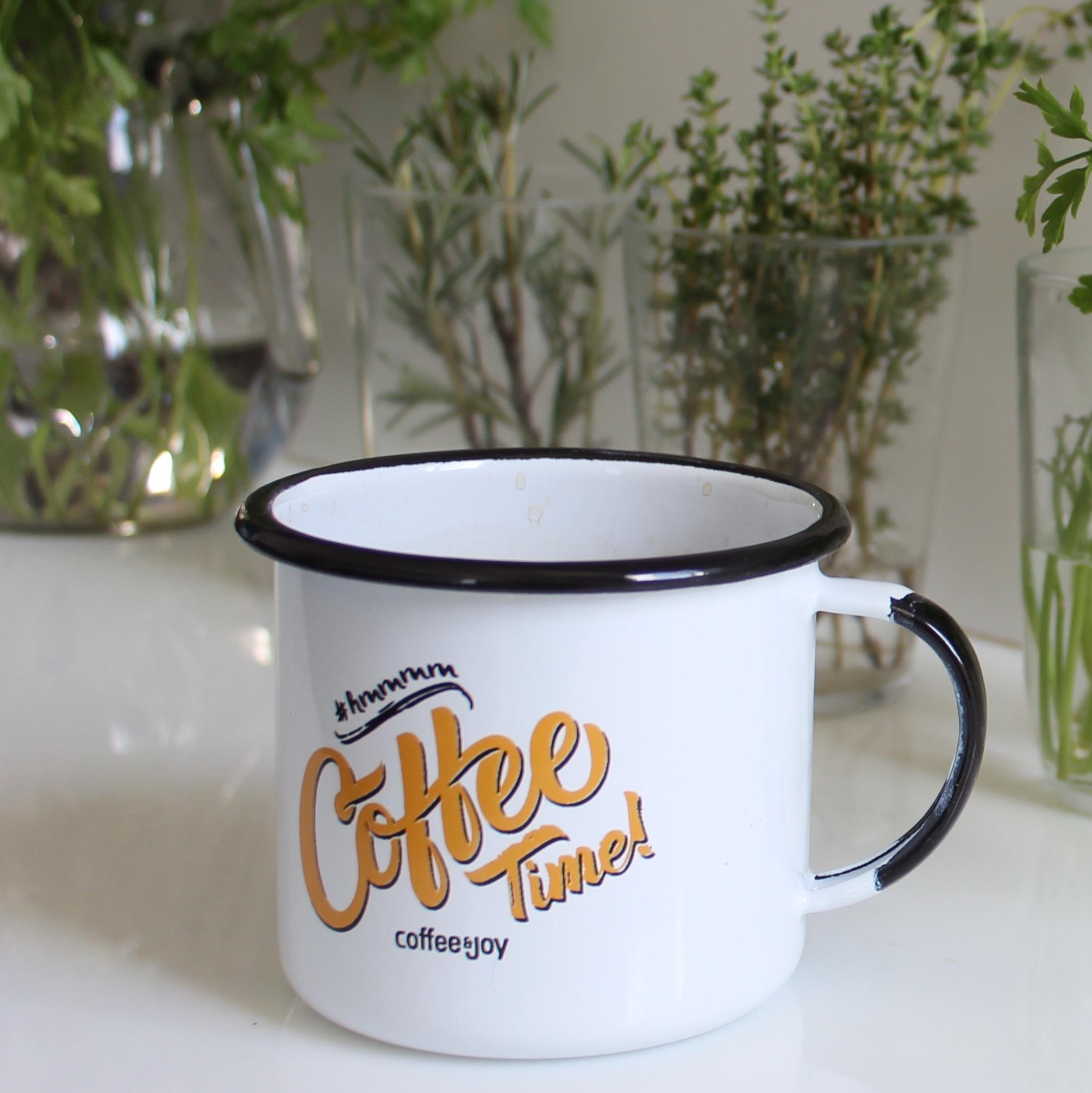 Coffeetime esmaltada