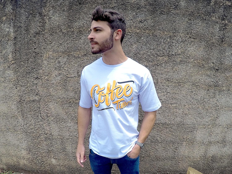 Camiseta branca homem 2