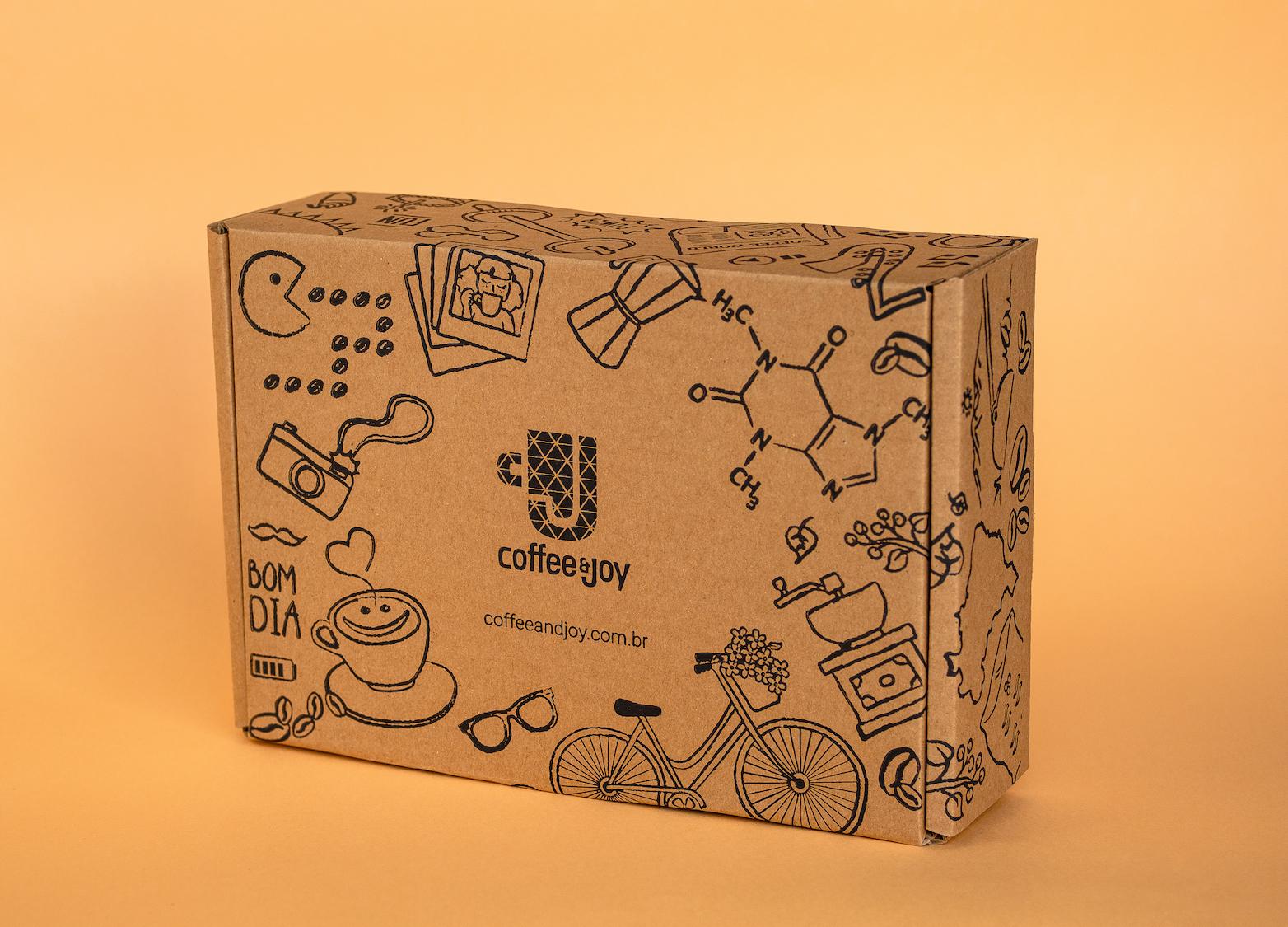 Coffeeandjoy   caixa personalizada