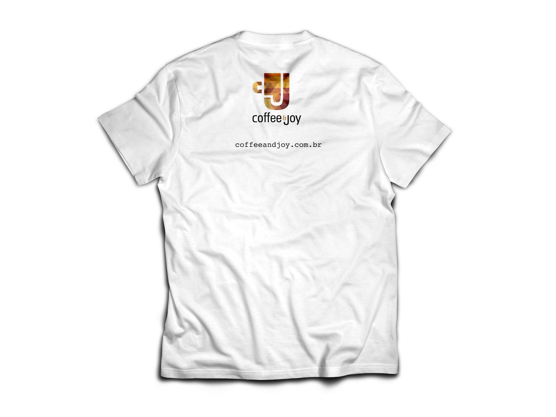 Camiseta cafe coffeetime coffeeandjoy branca