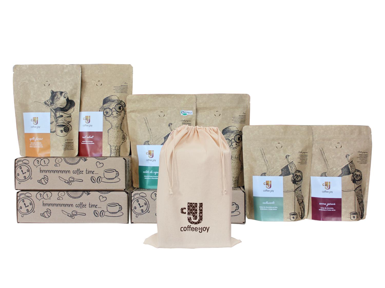 Coffeeandjoy promocao dia cafe saquinho