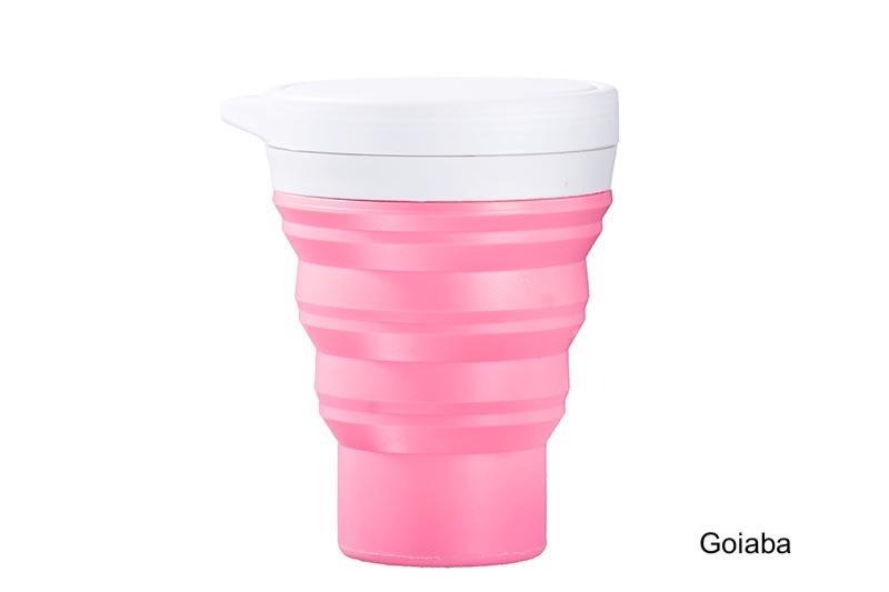 Coffeeandjoy copo silicone menos1lixo goiaba