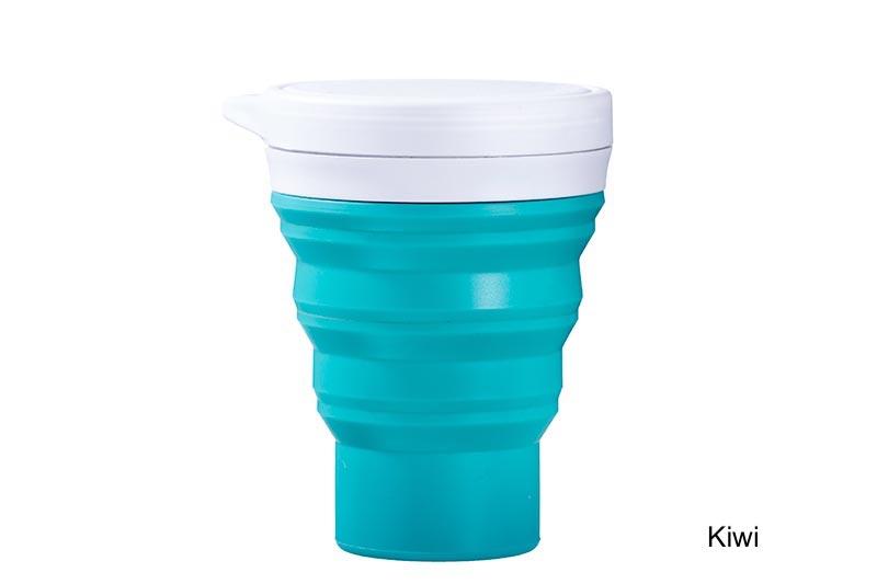 Coffeeandjoy copo silicone menos1lixo kiwi