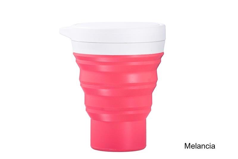 Coffeeandjoy copo silicone menos1lixo  melancia