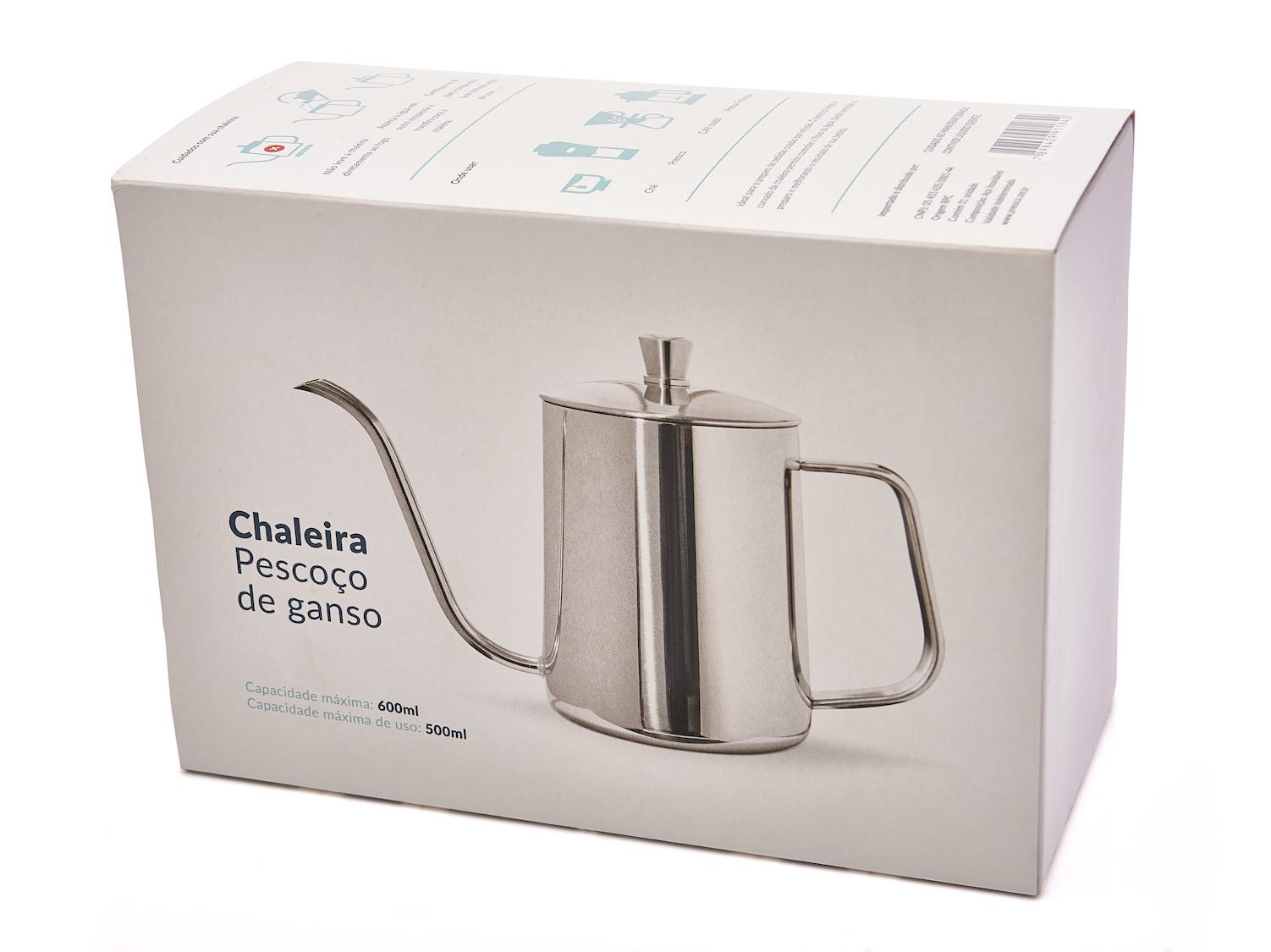 Coffeeandjoy chaleira presca bico ganso caf
