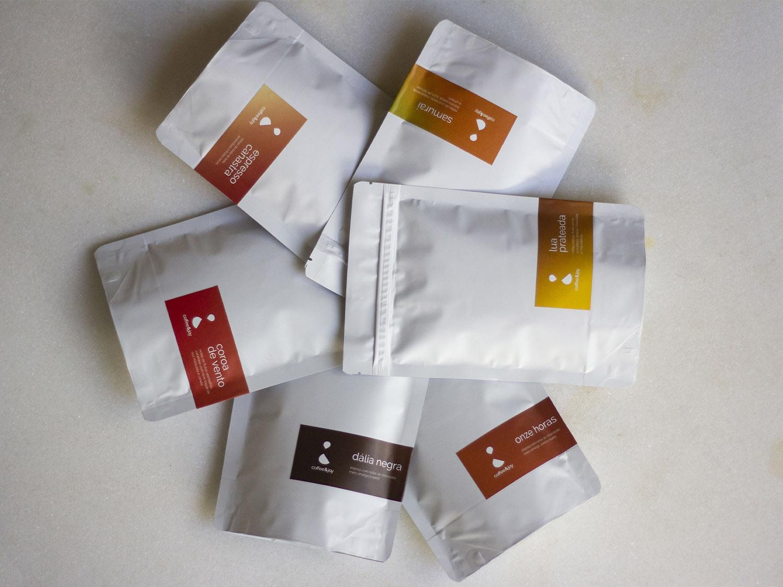 Coffeeandjoy kit caf s degustacao