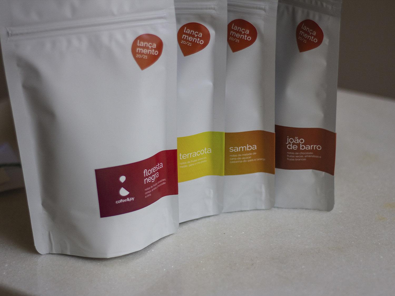 Coffeeandjoy kit de cafe para degustacao