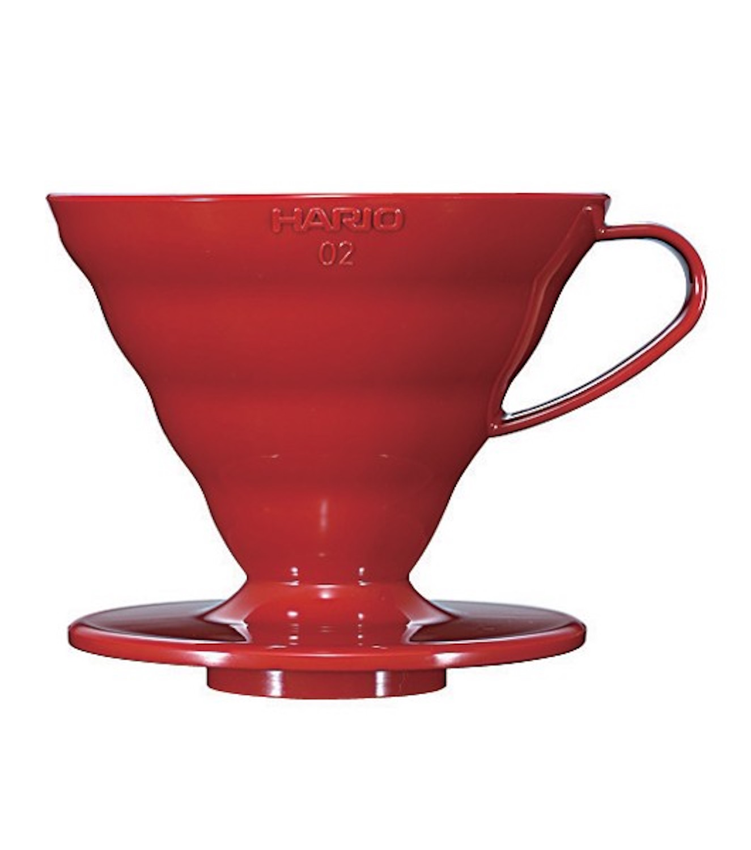 Hario v60 02 vermelho