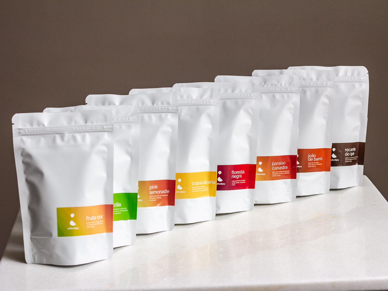 Coffeeandjoy kit completo cafes regioes brasil