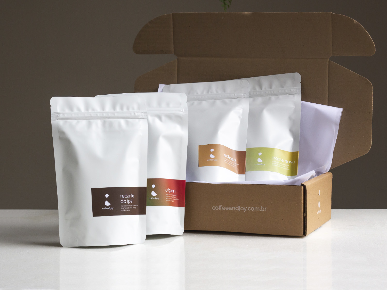 Coffeeandjoy kit para degustacao de cafe