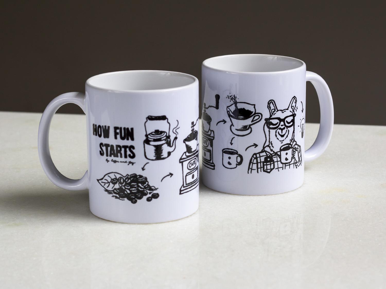 Coffeeandjoy caneca de cafe