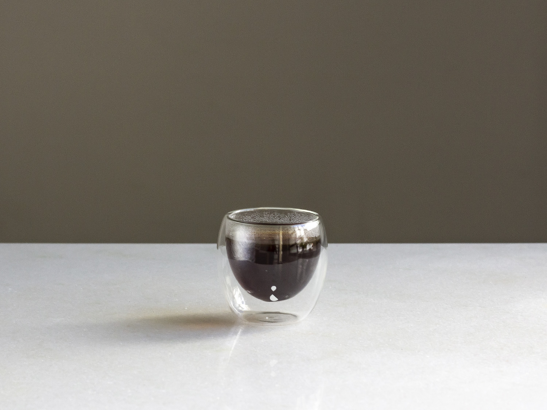 Coffeeandjoy copo duplo de vidro